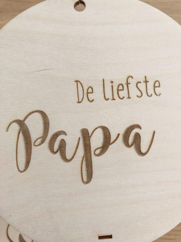 de liefste papa vaderdag