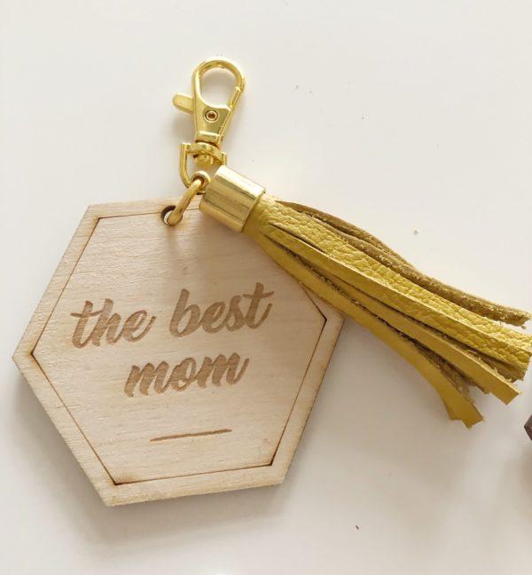 sleutelhanger the best mom