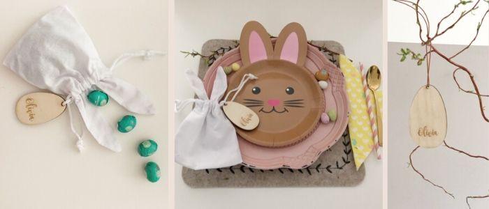 Paastafel decoratie