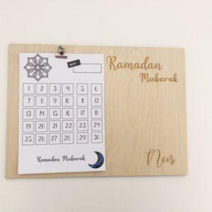 Ramadan aftel kalender
