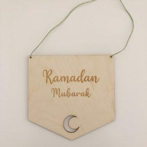Ramadan bordje