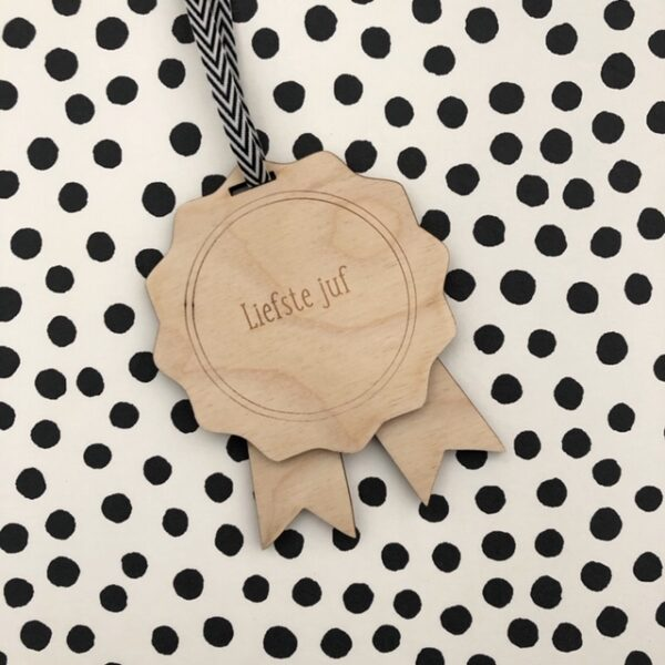 medaille hout