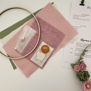 DIY pakket bloemenkrans