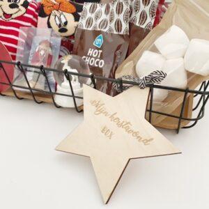 Kerst avond box hanger
