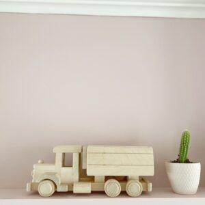 houten vrachtwagen spaarpot