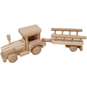 houten trekker met naam